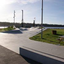 Skaterpark fra Søren V. Jensen